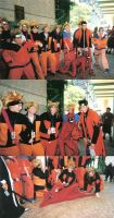 A-Kon 20: Naruto Group Shots by DemonKaizoku