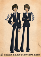 John and Paul by Emoeba