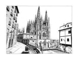 "Burgos Cathedral ""Spain"" by JeSSanchez"