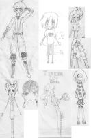 Sketch Dump by unknownwittness