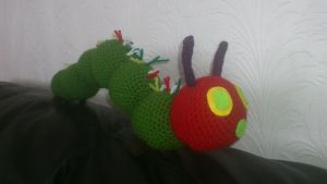 Amigurumi - The Hungry Caterpillar by passionfyre
