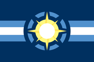 United System of Sol Flag by WMediaIndustries
