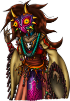 AT::. Majoran Shaman by Luifex