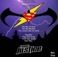 Young Justice mock Poster by ryeguyjedi