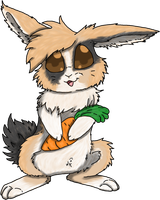 Cottontail by WolfArtC