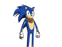 Sonic (Sonic Boom Design) by cooperraymer