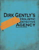 Dirk Gently minimalism poster by AshtonPerson