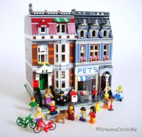Pet Shop LEGO by DreamsCatchMe