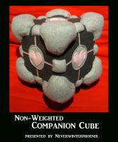Non-Weighted Companion Cube by Neverwinterphoenix