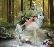 A Fairytale Painting by KaB-art