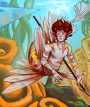 Lionfish Merman by zabbs