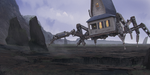 Spider house by L00ee