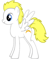 MLP: White Lightning by SweetCandace
