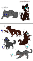 Ashfur x Hawkfrost Closed by Sukida-Adopts