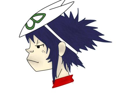 Noodle from my favorite band Gorillaz! by Amber-Shy