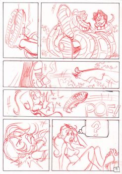 kaa and the girls page 09 by JinksLizard