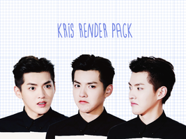 Pack PNG #9 Wu Yi Fan/Kris (EXO) by XieraaaPark