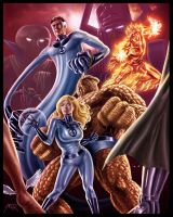 Fantastic Four by ArcosArt