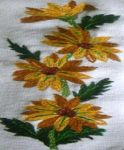 Daisy Embroidery by CosmicSilver