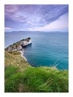 Kinbane Castle by Klarens-photography