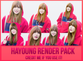 Hayoung Render by Know by Know-chan