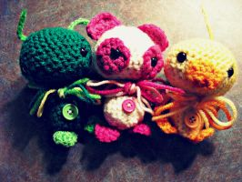 Amigurumi cuties~ by CoffeeBuns