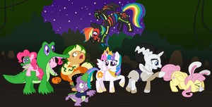 Halloween in Equestria by Atlur