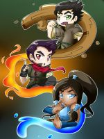 The Legend of Korra by NeonCelestia20
