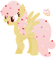 Mlp heart dount pony adopt (closed) by Kawaiirainbow220