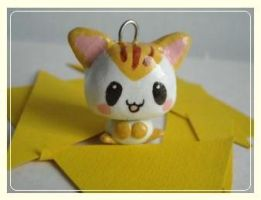 kitty necklace by poring-lover