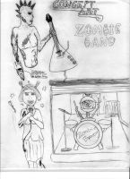 Zombie Rock Band Concept(OLD) by davids-sketchbook