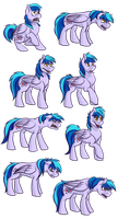 Commission - Shit Ton of Event Horizon Expressions by Rattlesire