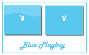 Blue Playboy by HOLYSOLDIER