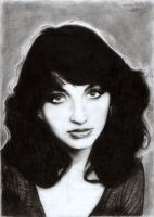 Kate bush portrait 1 by Cardinalsin692