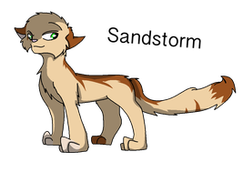 Warrior Cats: #9- Sandstorm by Superstar460