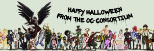 Happy Halloween 2013: The-OC-Consortium Collab by Canadian-Rainwater