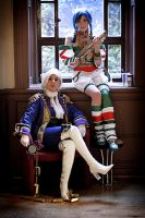 Ivy + Talim -Soul Calibur II- by carrie-monster