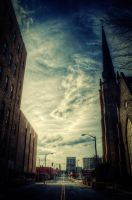 On the Street HDR by joelht74