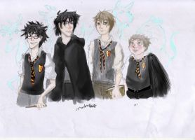 The Marauders by ooNerina