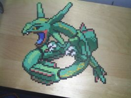 Hama Rayquaza by tony-boi