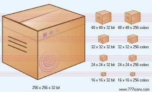 Box Icon by medical-icon-set