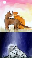 Art Trade- Warrior Cats by firestar21