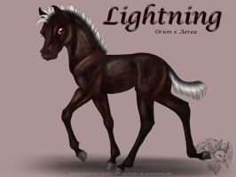 Orion x Aerea - Lightning by FlareAndIcicle