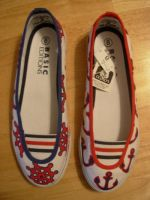 nautical shoes by mburk
