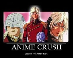 Anime Crush: Zechs by MadPrinceFeanor