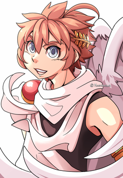 Commission: Kid Icarus - Pit by Kanokawa