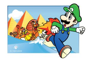 Super Luigi Land by donparadon