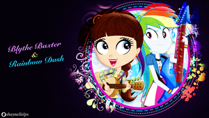 Blythe And Rainbow by illumnious