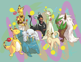 My Pokeminions and Me by Kitsune-Konno