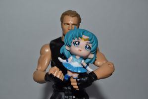 Dean and Sailor Mercury by Fallonkyra
